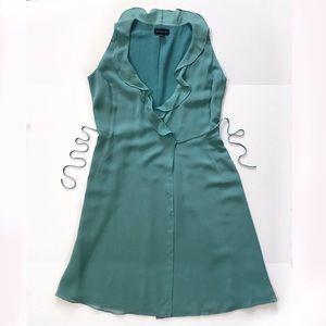 Nn Taylor Sleeveless wrap dress silk size 4
